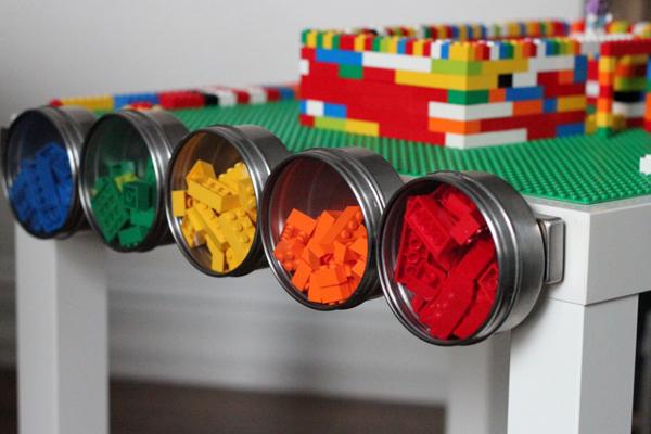 lego tisch bauen