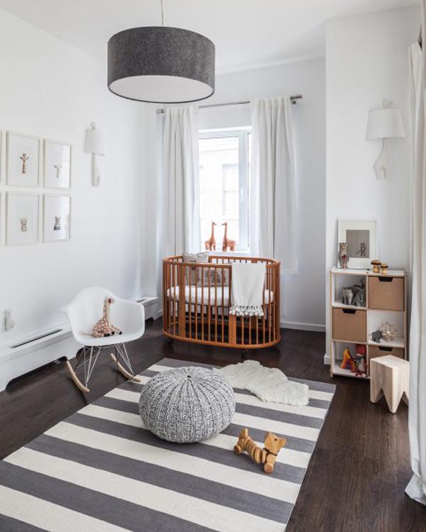 Ein Babyzimmer In Hellgrau Und Weiss Mummyandmini Com