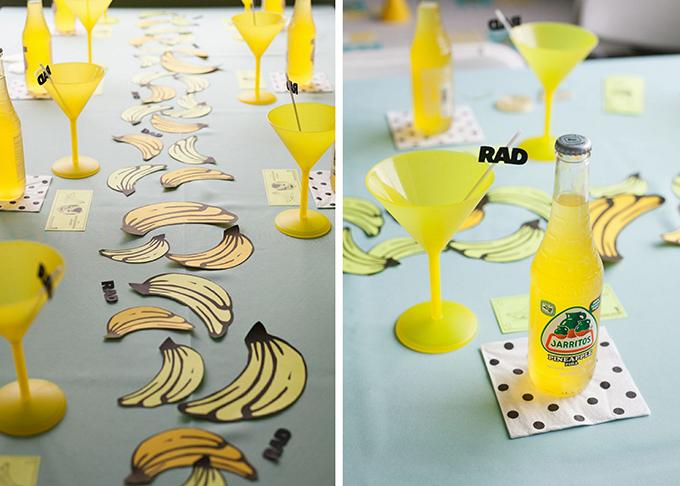 Kindergeburtstag Motto Banane (11)