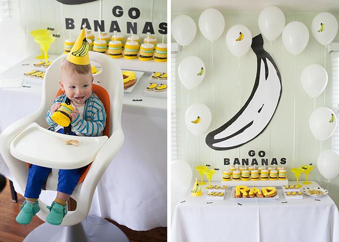 Kindergeburtstag Motto Banane (12)