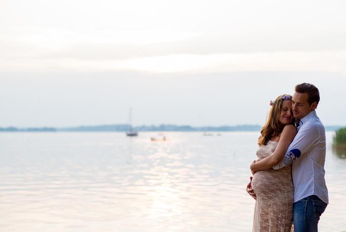 Babybauch Fotos am See (9)