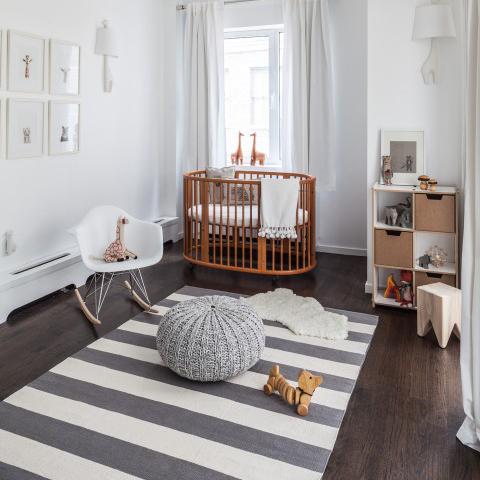 babyzimmer grau