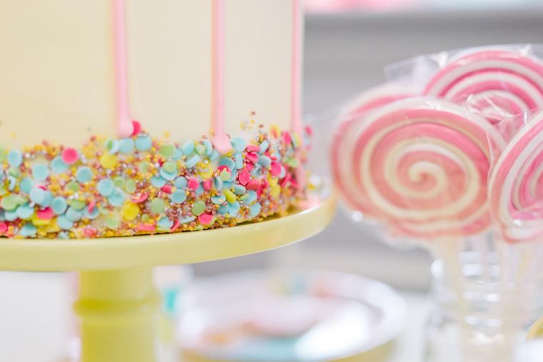 Birthday Cake Deko