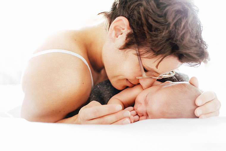 Neugeborenenfotos zu Hause 5