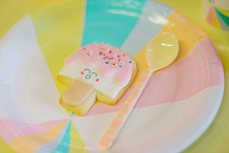 Partyteller Pastell Keks