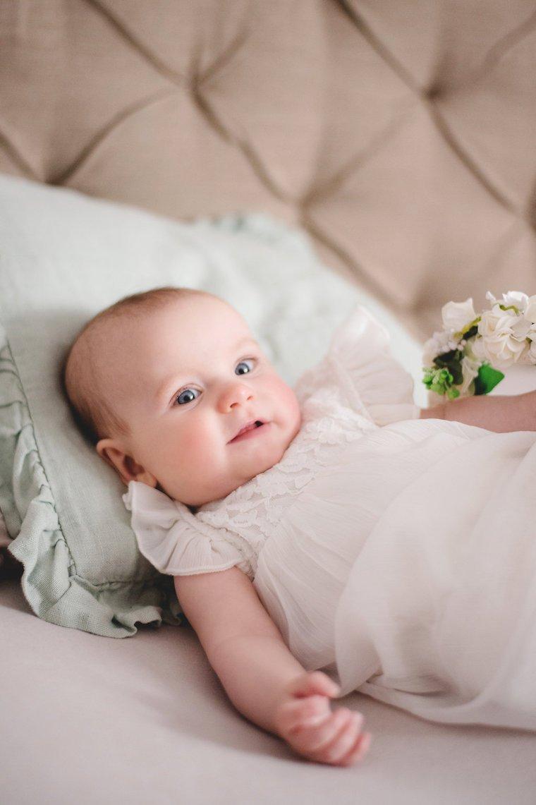 Babyfotos mit Blumenkranz 5
