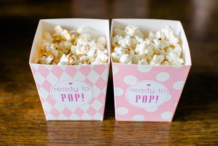 Babyparty Popcorn