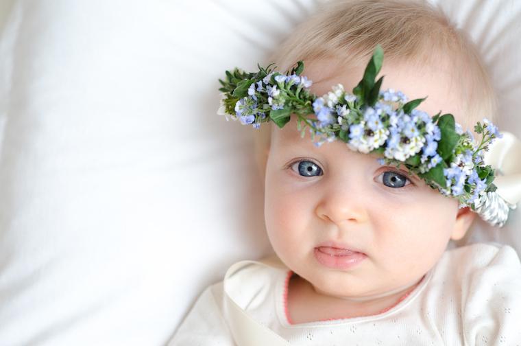 Babyfotos Maedchen