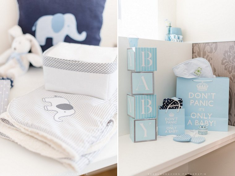 Babyparty Gift Table