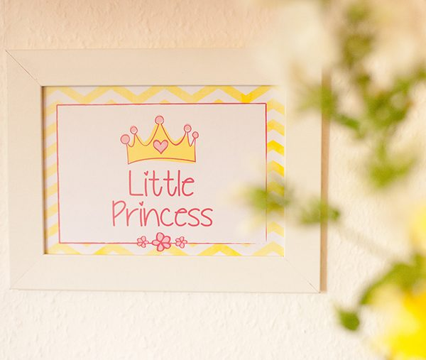 Babyparty Prinzessin