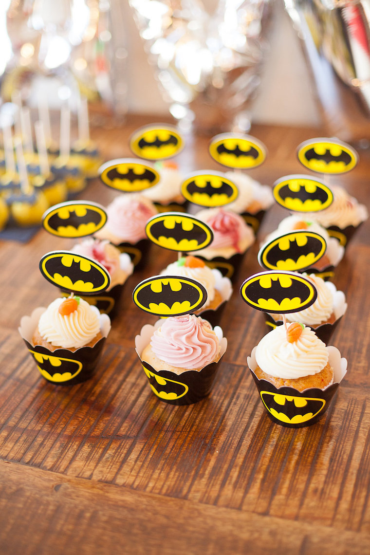Batman Cupcakes Birthday