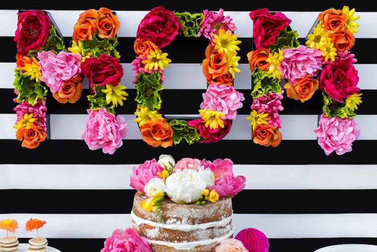 Blumenbuchstabend