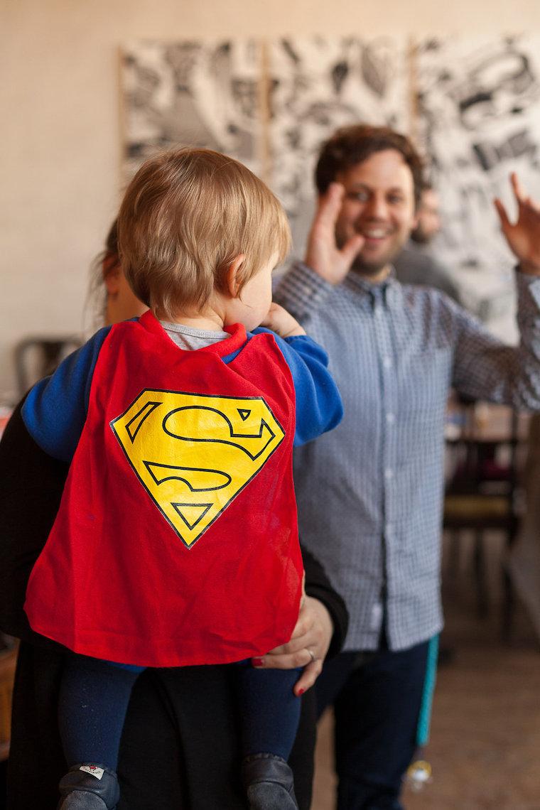 Geburstagskind Superheld