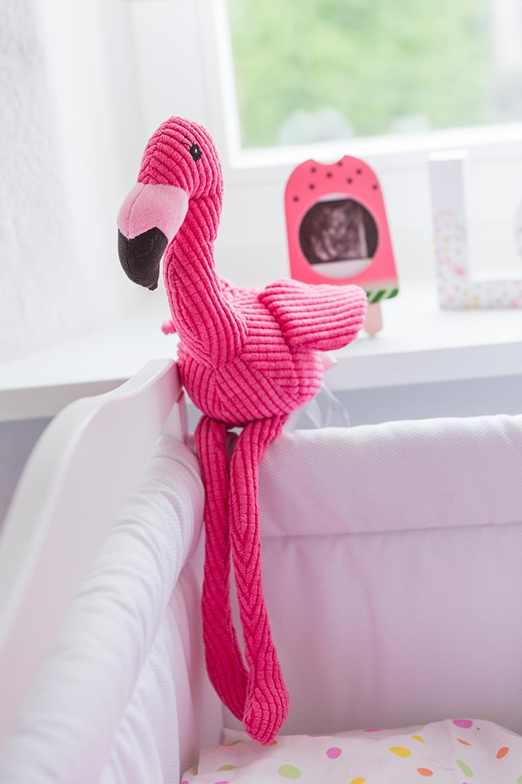 Kuscheltier Flamingo