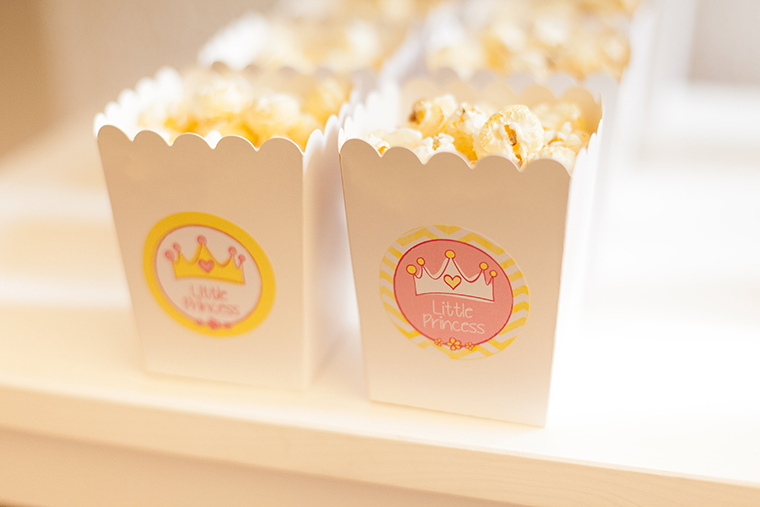 Popcornboxen Babyparty