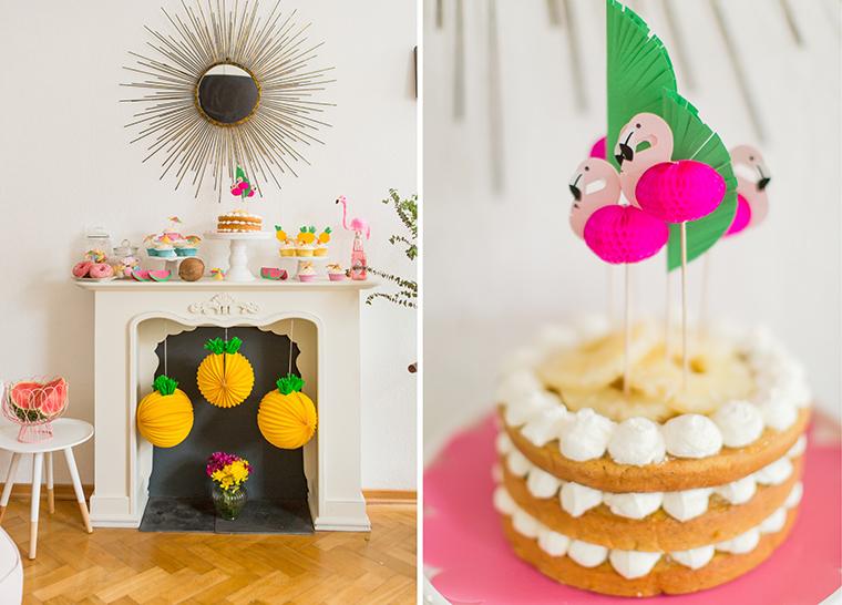 Torte Flamingo