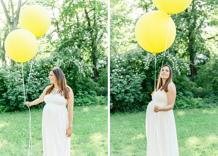 Babybauchbilder mit Luftballons (11)