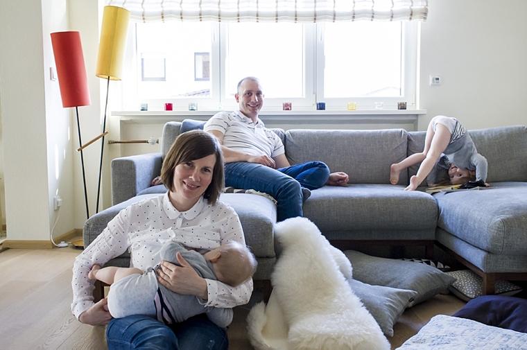 Familienfotos zu Hause 15