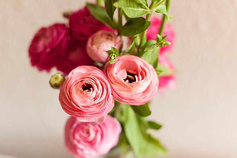 Blumen Babyparty