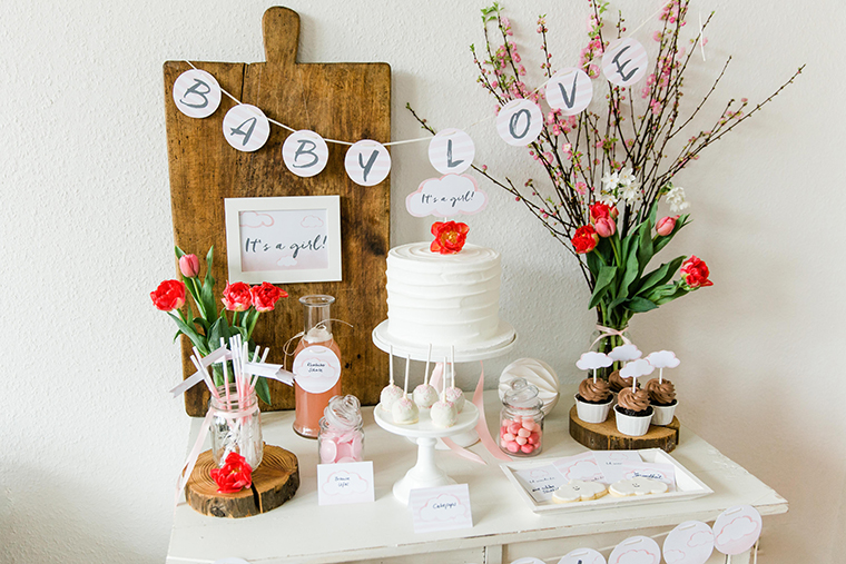 Alles zur babyparty for Baby deko