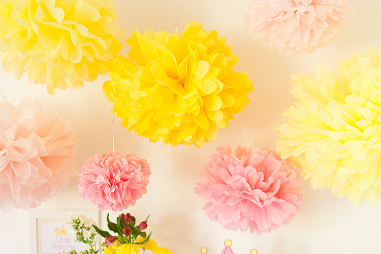 Pompoms Babyparty