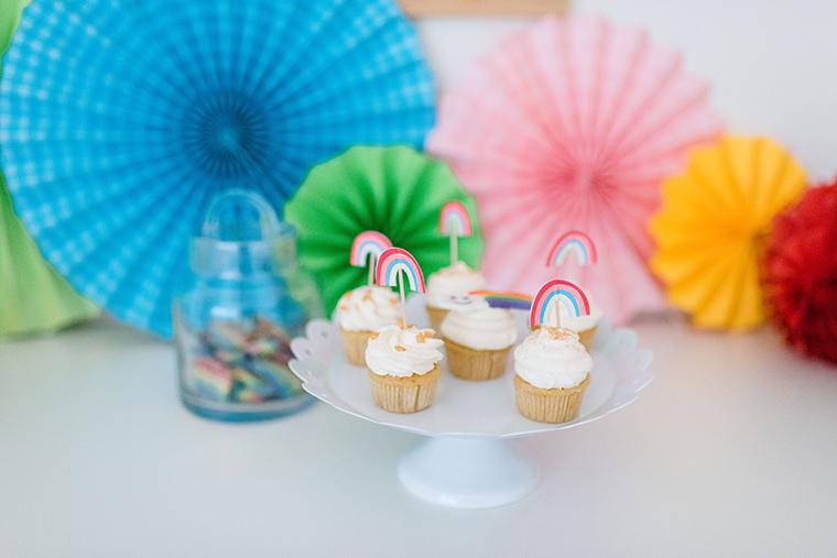 Cupcakes Regenbogen