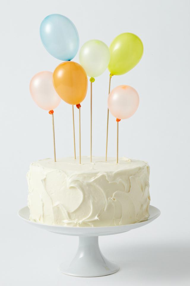 Geburtstagskuchen Ballons