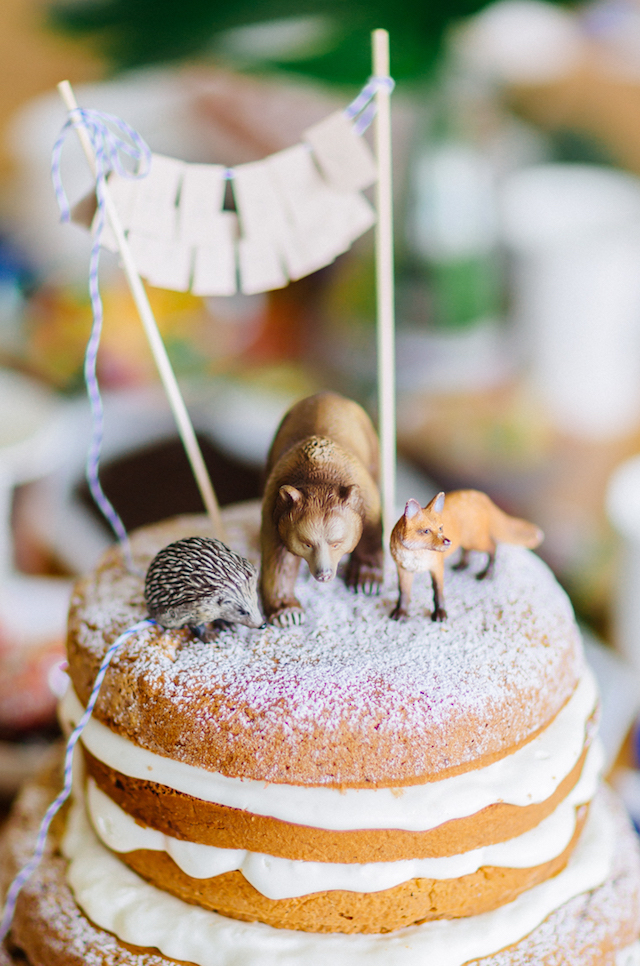Geburtstagstorte Tierdeko