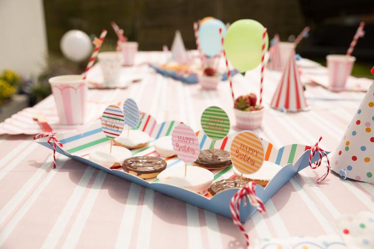 Zirkus Geburtstag Kekse