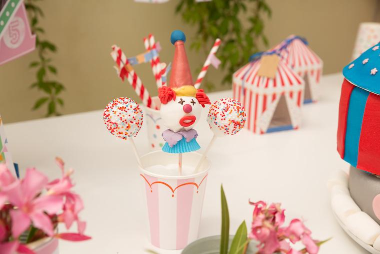 Zirkus Party Cakepops