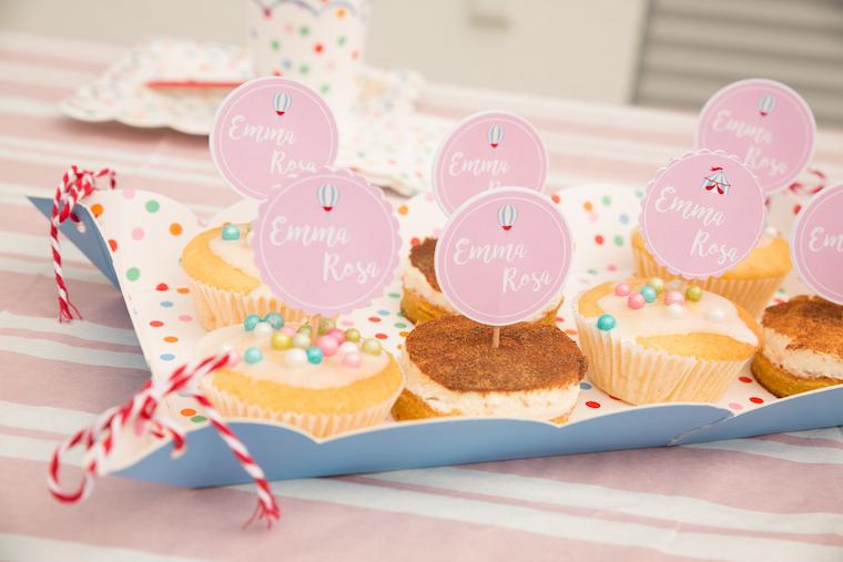 Zirkus Party Cupcakes