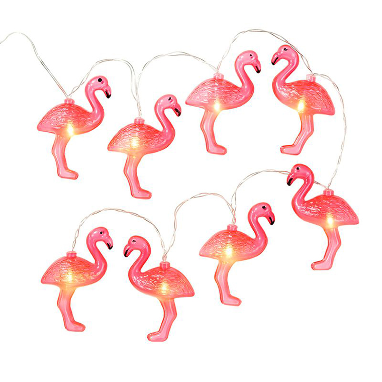lichterkette flamingo