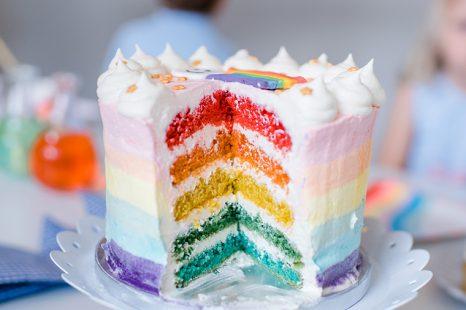Bunter Kuchen Kindergeburtstag Mummyandmini Com