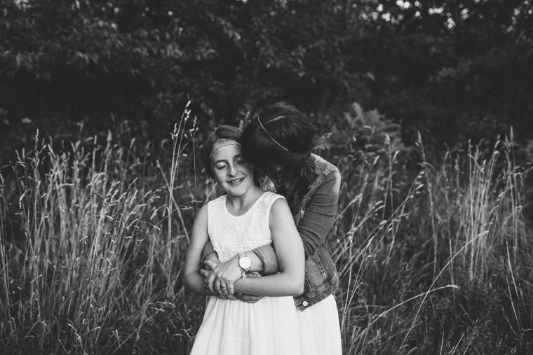 Mama und Tochter Fotos 10