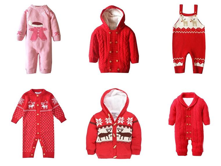 Norweger Pullover für das Baby