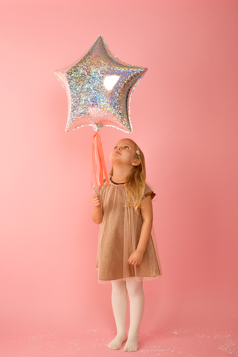 luftballon-sternform