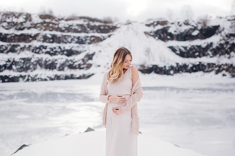 Babybauchbilder Winter (7)