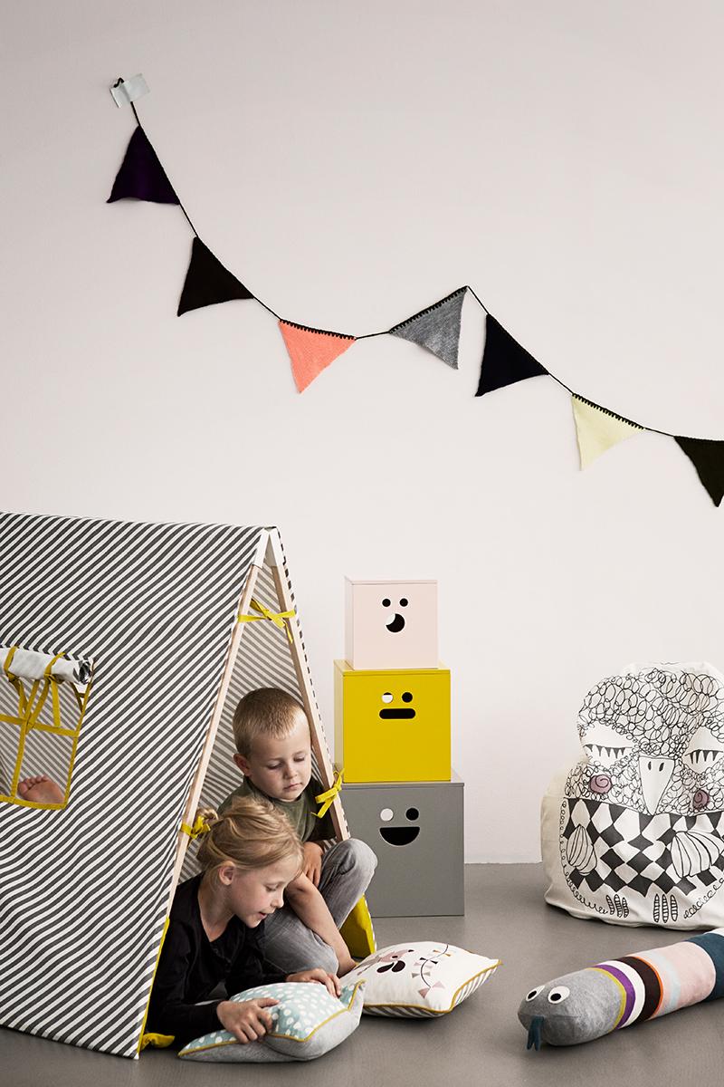 Kinderzimmer Tipi