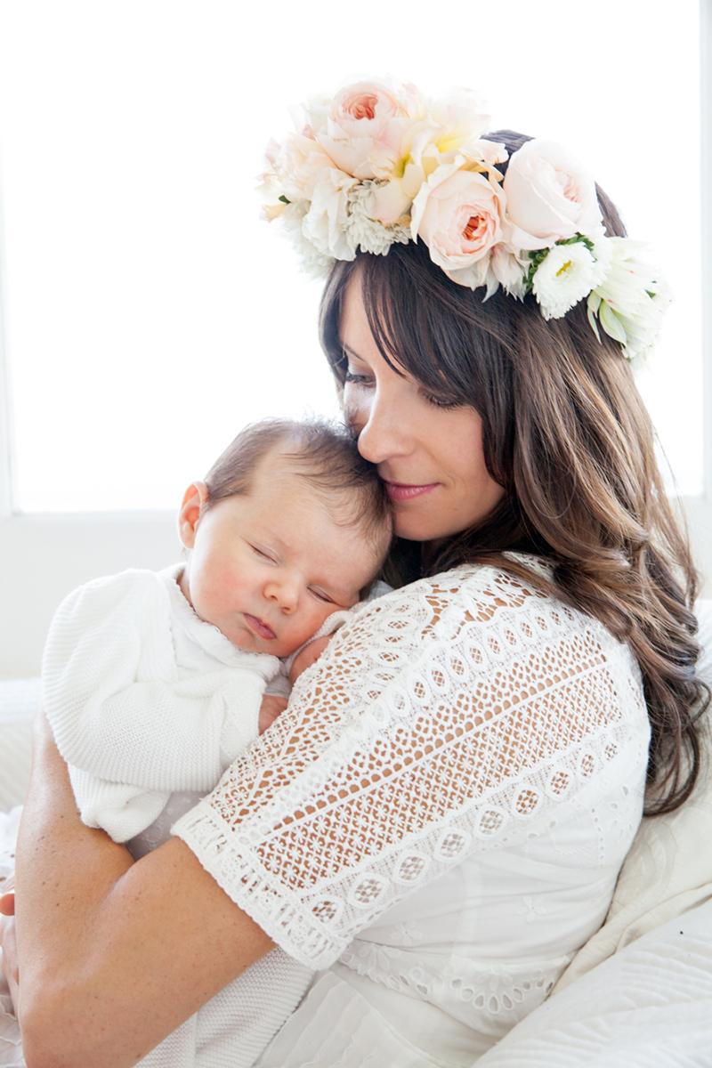 Mutter Tochter Blumenkranz (10)