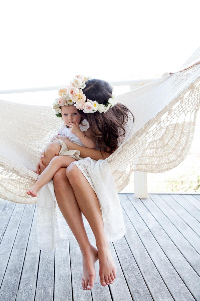 Mutter Tochter Blumenkranz (3)