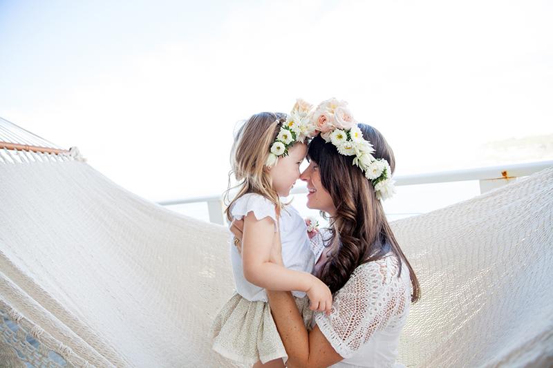 Mutter Tochter Blumenkranz (4)