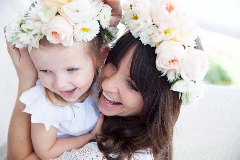 Mutter Tochter Blumenkranz (5)