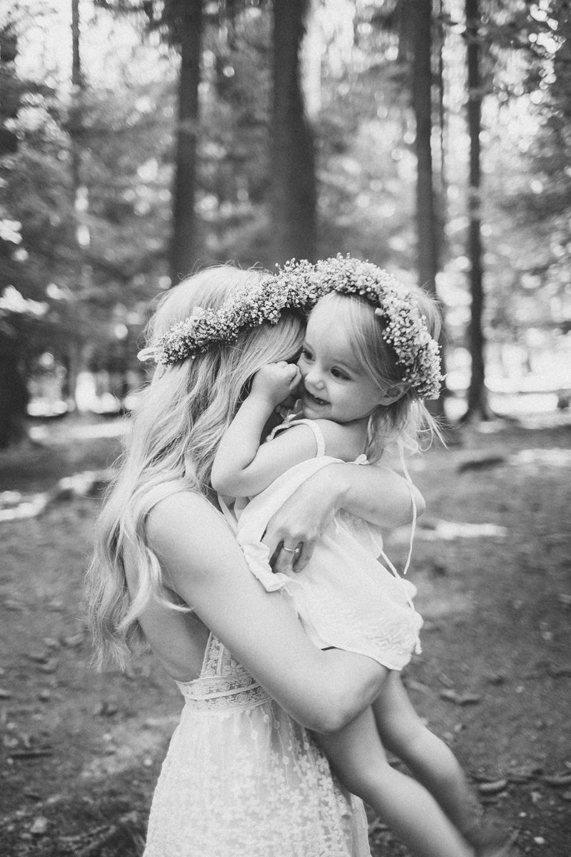 Mutter Tochter Blumenkranz (7)