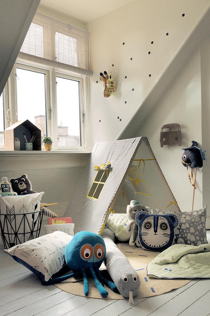 Tipi Kinderzimmer