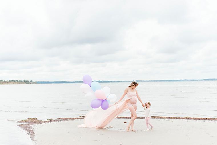 Babybauchbilder mit Luftballons 3