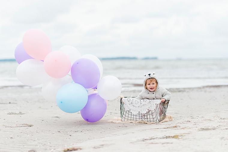 Babybauchbilder mit Luftballons 5