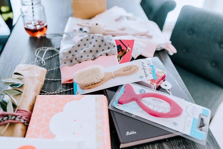 geschenke zur babyparty 2. Black Bedroom Furniture Sets. Home Design Ideas