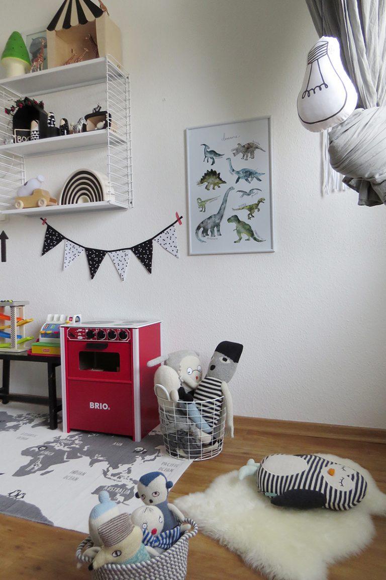 kinderzimmer in grau und schwarz weiss16. Black Bedroom Furniture Sets. Home Design Ideas