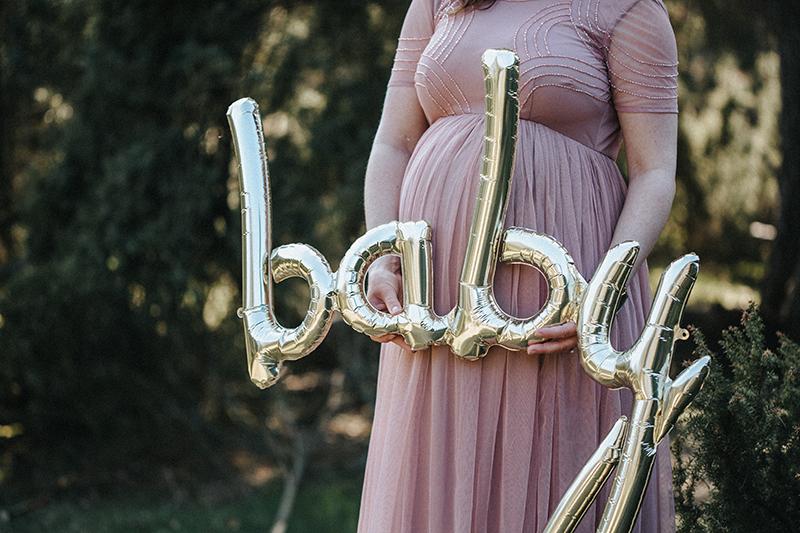Babybauchfotos mit Luftballons (3)