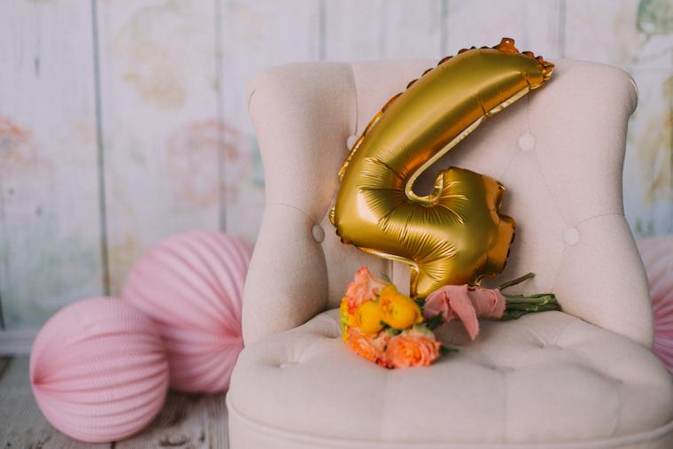 Ballon 4. Geburtstag